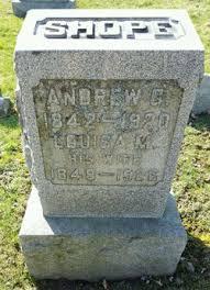 Louisa Minerva Smith Shope (1848-1926) - Find A Grave Memorial