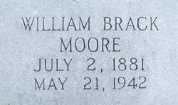 "William Braxton ""Brack"" Moore (1881-1942) - Find A Grave Memorial"