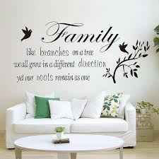 Family Like Branches On A Tree Quotes Wall Decal Sticker Wall Decals