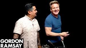 Gordon Ramsay Cooks Breakfast Tacos with Aarón Sanchez | Scrambled ...