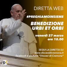 Venerdì 27 la preghiera in diretta da San Pietro con Papa ...