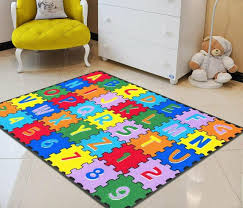 Kids Rugs For Kids Room Abc Puzzle Letters Numbers Kids Educational Play Mat For Sale Online