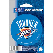 Official Oklahoma City Thunder Car Decals Car Decals Stickers Magnets Store Nba Com
