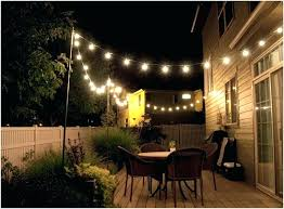 outdoor patio string light lights