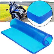 motorcycle seat gel pad damping elastic