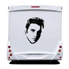 Elvis Presley Camping Car Sticker 2