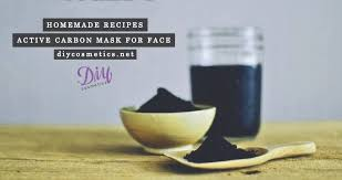activated charcoal mask for face step