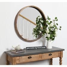 round mirrors at