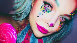 candyland clown makeup