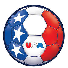 Usa Soccer Ball Sticker 5 1 4in Party City