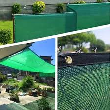 Outdoor Patio Sun Shade Cloth With Grommets Garden Sun Shade Sails Canopy Shelter Cover Privacy Fence Screen Shopee Malaysia