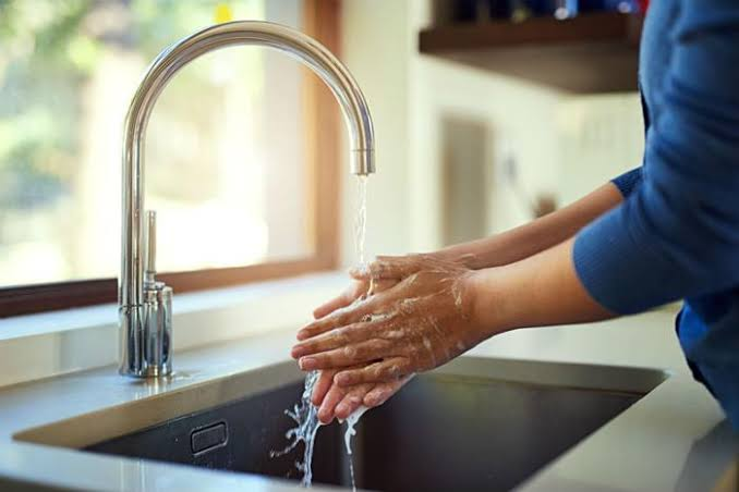 Image result for washing hands""