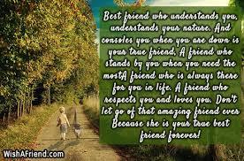 best friend who understands you understands best friend quote