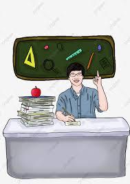 رسم مرسومة باليد من الناس الذين يدرسون في العمل مرسومة باليد توضيح