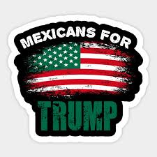 Mexicans For Trump President 2020 Election Day Election Sticker Teepublic Au