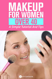 makeup for women over 40 a simple