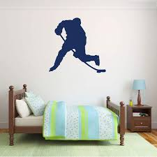 Sports Decorations Hockey Wall Decor Hockey Is My Life Boys Bedroom Or Playroom Vinyl Decal For Teen Fundaciondecus Org Ar