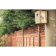 Forest Garden Fence Top Trellis Diamond Lattice 1 83m X 300mm Wickes Co Uk