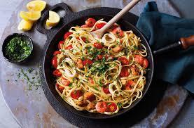 Jamie Oliver's Seafood Linguine Recipe [100% Authentic]