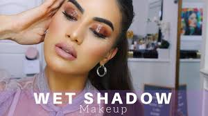 glossy shadow makeup you