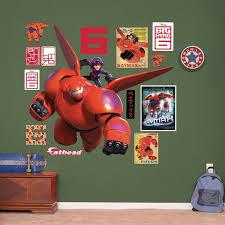 Shop Fathead Big Hero 6 Baymax And Hiro Wall Decals Overstock 9643467