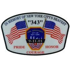Fdny 9 11 Pride Honor Courage Decal Fdny Shop