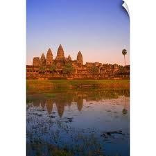Angkor Wat Temple Cambodia Novelty Car License Plate P1 Automobilia Collectibles Transportation
