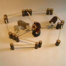 Products Natural Pod Farm Fence Diy Farm Animal Toys Homemade Kids Toys