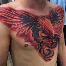 Great Work Phoenix Tattoo Phoenix Tattoo Design