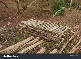 Rustic Wooden Picket Fence Panels On Stock Photo Edit Now 1334215301