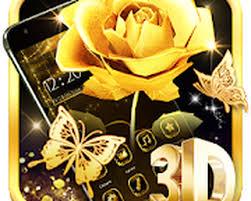 gold rose live wallpaper nosirix