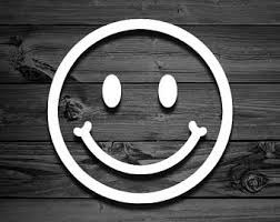 Smile Decal Etsy