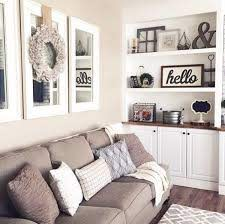 mirrors above couch with wreath open