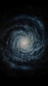 ios 8 default spiral galaxy iphone 5