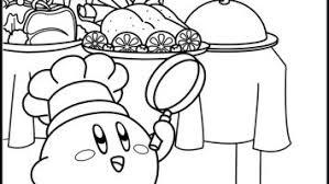 Kleurplaat Kirby