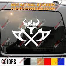 Spartan Sparta Viking Warrior Helmet Decal Sticker Odin Ax Norse Car Vinyl Car Stickers Aliexpress