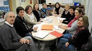 Le Télégramme - Saint-Derrien - École Saint-Yves. Élection des deux bureaux
