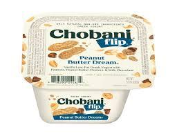 chobani flip peanut er dream greek