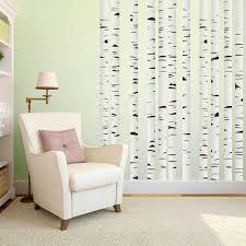 Birch Trees Printed Wall Decals Wall Art Wall Murals