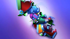beautiful 3d i love you wallpapers hd