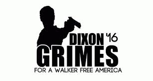 The Walking Dead Decal Daryl Dixon Vinyl Decal Rick Grimes For President Zombie Decals Walking Dead Stickers Zombie Car Daryl Dixon The Walking Dead Dixon