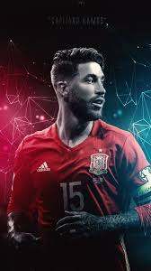 sergio ramos of spain wallpaper
