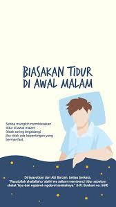 tidur di awal waktu islamic quotes kutipan agama