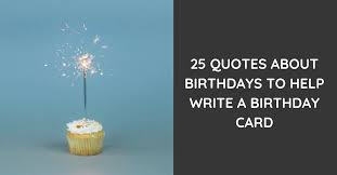 birthday quotes for a perfect card