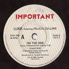Lukk Featuring Felicia Collins - On The One (1985, Vinyl) | Discogs