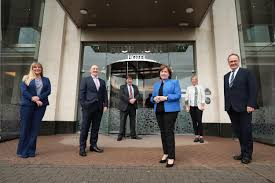 Northern Ireland Economy Minister Diane Dodds joins tourism industry  representatives at Visit Belfast board meeting - LoveBelfast