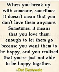 break up quotes about breaking up and moving on