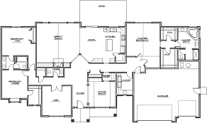 modern house floor plans home with