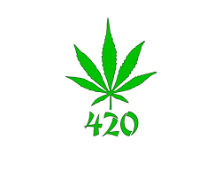 420 Marijuana Cannabis Stickers Set Of 2 Vinyl Graphic Art Etsy