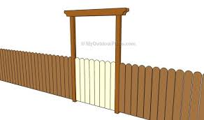Fence Gate Plans Myoutdoorplans Free Woodworking Plans And Projects Diy Shed Wooden Playhouse Pergola Bbq